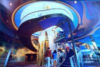 The Imagination Pavilion, back when you could access the upper level's Image Works