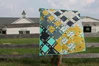 Steeple Chase quilt by Film In The Fridge