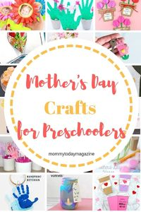 Easy and Fun Mother's Day Crafts For Preschoolers - Kids Mother's Day Craft Ideas