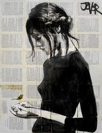 Buy Prints of peace, a Pen and Ink on Paper by LOUI JOVER from Australia. It portrays: People, relevant to: peace, jover, bird, Pop art, loui jover, collage, dr