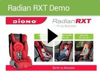 RadianRXT Car Seats, Convertible Booster Car Seat | Diono-birth to booster