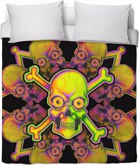 Neon Cocktail Duvet Cover $120.00