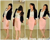 DYI pencil skirt