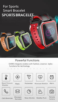 XANES® WQ9 1.54'' Color Screen IP68 Waterproof Smart Watch Message Push Blood Oxygen Monitor Fitness Exercise Sports Wristband