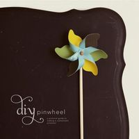 DIY playful pinwheel