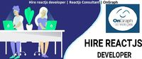 Hire reactjs developer   Reactjs Consultant   OnGraph  OnGraph, provides all kinds of ReactJS development services. React is consider a wonderful cross development application framework which allow the same app to work for the web and mobile users. Hire...