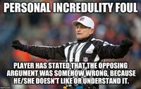 See more 'Logical Fallacy Referee' images on Know Your Meme!