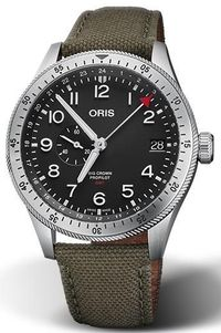 ORIS MOD. BIG CROWN PROPILOT GMT 01 748 7756 4064-07 3 22 02LC $2098.80
