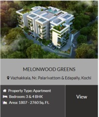 Melon wood homes offers Luxury flats,Luxury apartments and flats in Kochi with best offers.We are one of the top builders in kochi,Ernamkulam,Kerala. Contact Us or visit our website for more details about Flats,Villas,apartments in Kochi.