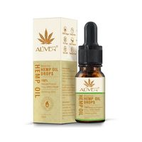 Organic Hemp Seed Oil Essential Oils Herbal Drops Body Relieve Stress Oil Skin Care Facial Body Care Pain Relief Anti Anxiey £26.99