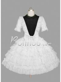 Lace All Over White Gothic Lolita Dress