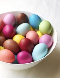 Visit me on Momster today for tips on using Rit Dye for eggs, along with a dozen color formulas. You can also find an additional 14 formulas in this year's East