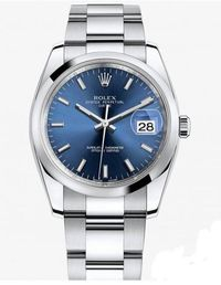 Popular Blue Women's Watches Recommend - Rolex Oyster Perpetual Watch 115200-72190 Blue Dial