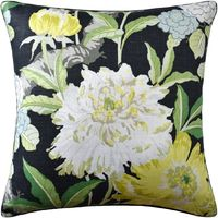 Black Enchanted Garden Pillow by Ryan Studio $350.00