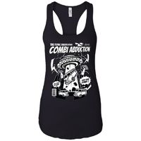 Combi Abduction - Ufo Art - Women's Racerback Tank Top $19.97