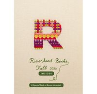 Embroidered catalogue cover artwork by MaricorMaricar Studio, via Behance