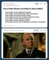 "J.K. Rowling's Version Of ""Harry Potter"" According To Draco Malfoy Is Absolutely Hilarious"