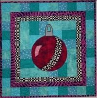 Ornament Christmas Quilt Pattern by Barbara J. Jones of bj designs and patterns