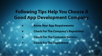 How To Choose The Best App Development Company?