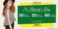 All fashion-divas reading this! Here comes an opportunity for you to get lucky this Paddy's Day. Yes, divas! St. Patrick's Day is around the corner and fashion hub �€˜ROMWE' is inviting you to shop sophisticated fashion wear w...