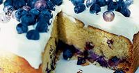 Blueberry soured cream cake with cheesecake frosting » Food Recipes. Let's just all make this so we can say we had a little slice of Heaven here on Earth!