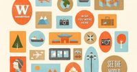 Love these travel illustrations from Kasey Albano