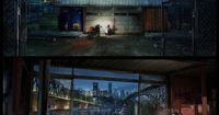 TRON Legacy concept art for Film by STEAMBOT , via Behance