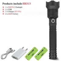 led flashlight 90000 lumens lamp hand light $24.99