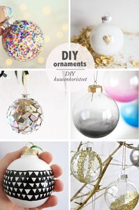 DIY Ornaments | Best Day Ever