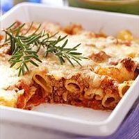 Weight Watchers Baked Beef Ziti. I use this recipe for my baked ziti still to this day! I swap ground turkey and tomato sauce, but the rest is the same. Yummmm