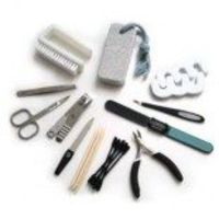 personal manicure kit.. use them whenever you need and carry them wherever you leave easily..