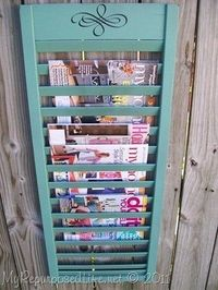 repurposing - Click image to find more DIY & Crafts Pinterest pins I love this!! Will have to make two for the bathrooms.