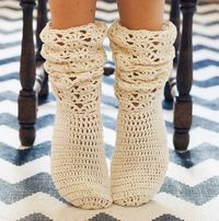 Instant download Crochet PATTERN for socks pdf by monpetitviolon