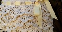 The White Russian Lacy Summer Skirt. So I've been seeing a lot of those adorable crochet ruffle shorts around, and it finally dawned on me that I really wanted a crochet ruffle skirt to wear during the summer to the beach or anywhere, really. Free P...