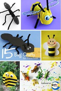 Bug Crafts for Preschool - Kidz Activities