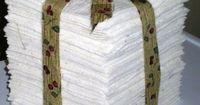 storage ideas for rag quilts lining
