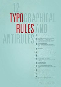 Typography Poster by Vintherr, via Flickr #webdesign #design #designer #inspiration #user #interface #ui #typography #posters #type #fonts