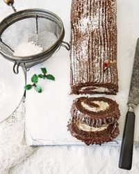 Yule log would make a cute dessert for a wild things party.