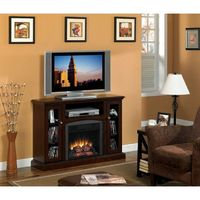 Classic Flame Advantage Bancroft Electric Fireplace in Roasted Mahogany - 18DE9033-PM92