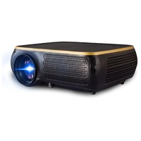 Poner Saund HTP M8 LCD Projector 950 Lumens 1280X800dpi 1080P 4K HD 3D LED Projector Mobile Phone Same Screen 1G+8G WiFi bluetooth Android Version