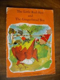 The Little Red Hen and The Gingerbread Boy by Constantine Georgiou (1963) for sale at Wenzel Thrifty Nickel ecrater store