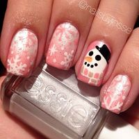 Finally we make it and here these list of awesome picture for your inspiration and informational purpose regarding Christmas Nail Art Designs as part of Trendin