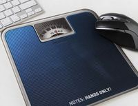 Scales Pattern Mouse Pad - feelgift.com