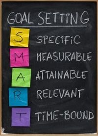 Keep your goals real! Be Smart :-) specific, measurable, attinable, relevant and time-bound