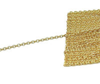 1.30mm Chain Rose Solid Gold, Strong chain, Custom Length Chain, Pendant Necklace Chains, All Lengths $465.00