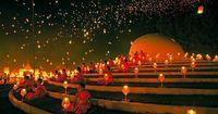 YeePeng (Lantern)Festival, ChiengMai, Thailand