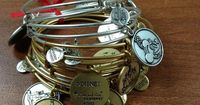 Alex and Ani Disney bracelets and charms