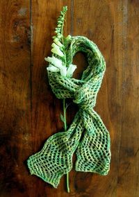 Summer Shimmer Scarf - the purl bee
