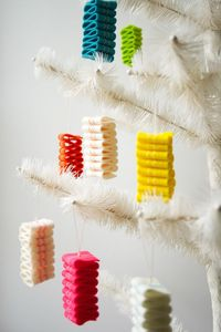 Ribbon Candy Felt Ornament Tutorial // The Purl Bee