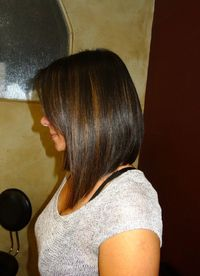 This is how i want my bob when i do decide to cut my hair...maybe alitle longer in front!
